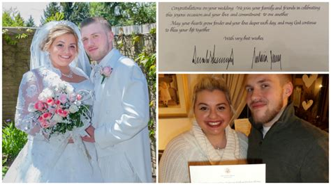 Wedding Congratulations From President by Suburban Newlyweds Shocked To Get Wedding Congrats From