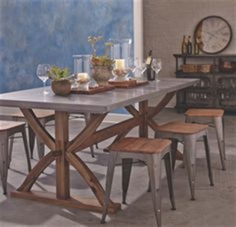 metal wrapped braxton dining table dining table chairs