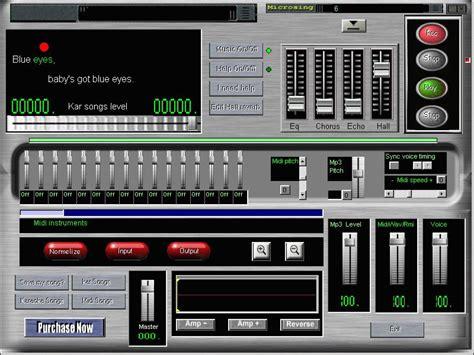 download full version karaoke software for free karaoke recorder midi to wav mp3 recorder wav recorder