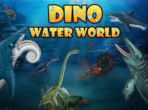 jurassic world game mod apk offline jurassic dino water world mod apk android