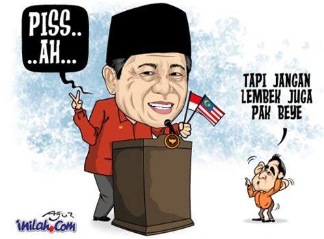 jendral makan karikatur sby