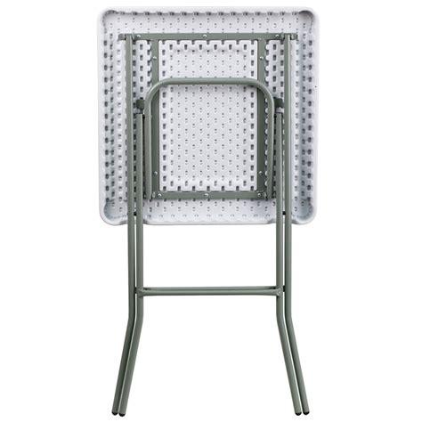 bar height folding 27 square granite white plastic bar height folding table