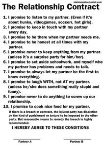 relationship agreement template the relationship contract