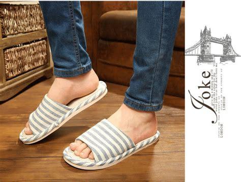 Sandal Selop Kain Indoor Sloop 1 sandal selop kain indoor size 42 43 blue