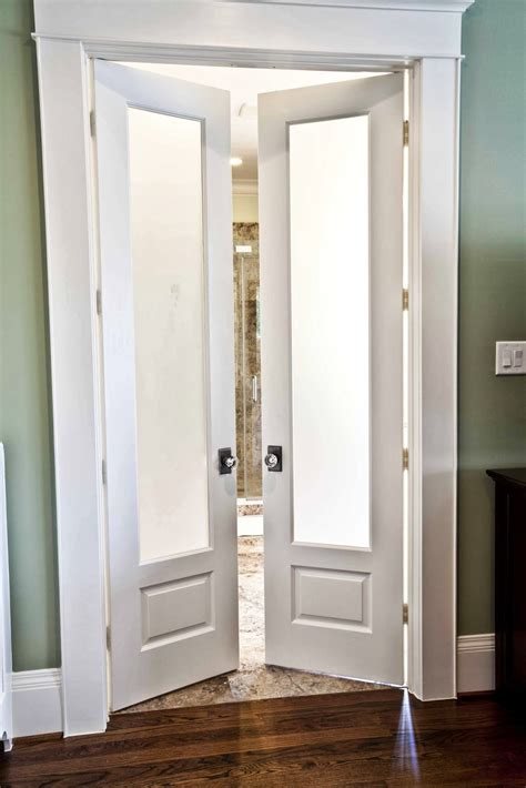 bedroom double doors bathroom doors on pinterest barn door hardware double