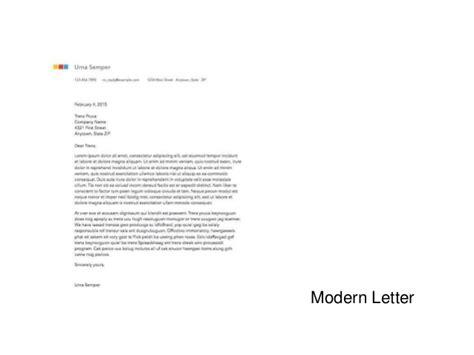 MODERN LETTER   Moda'n?n Adresi