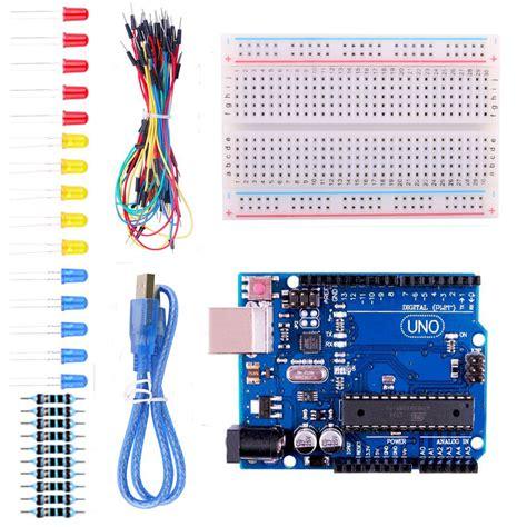 Starter Kit Kiosk 1set 1 set learning starter kit basic suite for arduino small tool with retail box in electronics