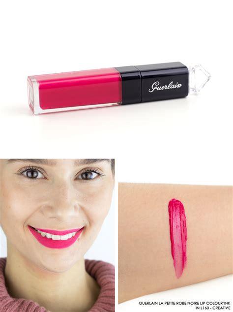 Guerlain La Robe Lipstick Trendy Pop Shades Series 2 guerlain la robe lip colour ink swatches escentual s buzz