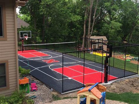 snapsports backyard multi court huskers theme