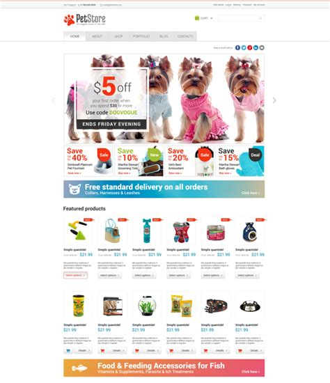 6 of the best woocommerce themes for pets down