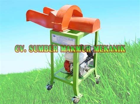 Mesin Chopper Perajang Rumput Gajah Sumber Makmur Mekanik mesin chopper perajang rumput ternak