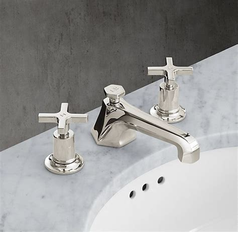 restoration hardware kitchen faucet restoration hardware lefroy 1930 mackintosh cross handle 8 quot widespread faucet