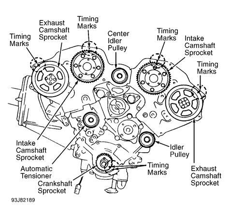 timing diagrams 1993 infiniti j30 serpentine belt routing and timing belt