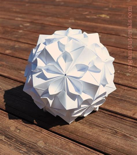 tutorial origami modular 1000 ideas about origami ball on pinterest origami diy