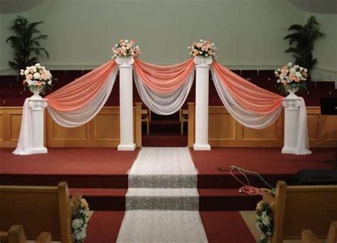 ceremony decoration columns flower ideas wedding event
