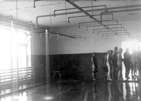 History Of Showers by Inmates Inside The Showers At Birkenau Mundi
