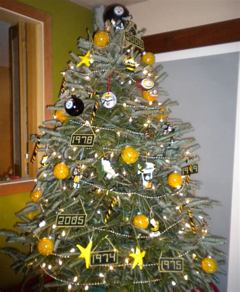 steelers christmas tree pittsburgh pinterest