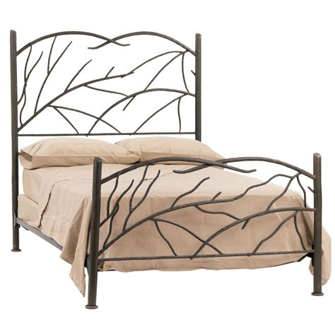 wrought iron bed headboards wrought iron norfork bed by stone county ironworks