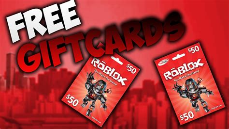 Robux Gift Card - roblox 10 robux gift cards giveaway 50 gift cards youtube
