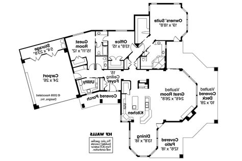 Florida Home Plans by 17 Amazing House Plans Florida House Plans 64155