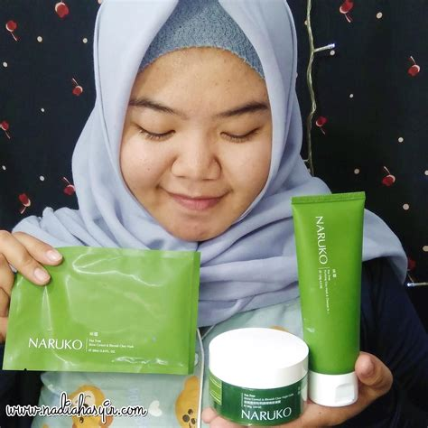 review naruko tea tree series rangkaian skin care