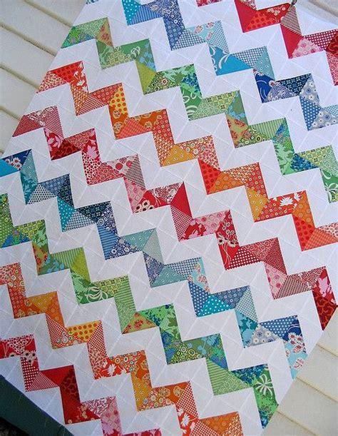 zig zag rail quilt pattern 16 best images about quilts zig zag on pinterest quilt