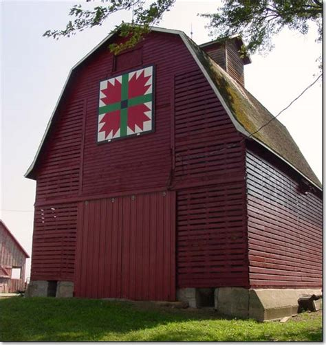 Barn Quilts In Iowa by A Of This A Of That Barn