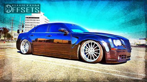 2006 chrysler 300 custom wheel offset 2006 chrysler 300 tucked dropped 3 custom rims