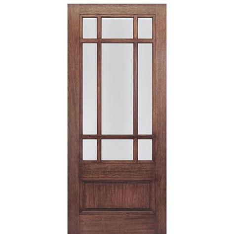 Mai Doors Htc700 1 36 Quot X80 Quot 9 Lite Craftsman Entry Door 9 Lite Exterior Door