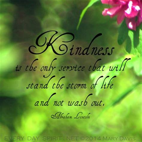 abraham lincoln quotes about kindness. quotesgram