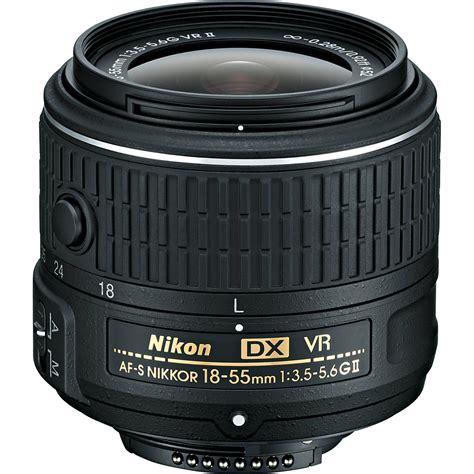 Nikon Dx Vr nikon af s dx nikkor 18 55mm f 3 5 5 6g vr ii lens 2211 b h