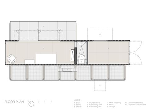 container homes floor plans architect sketch gallery of container guest house poteet architects 24