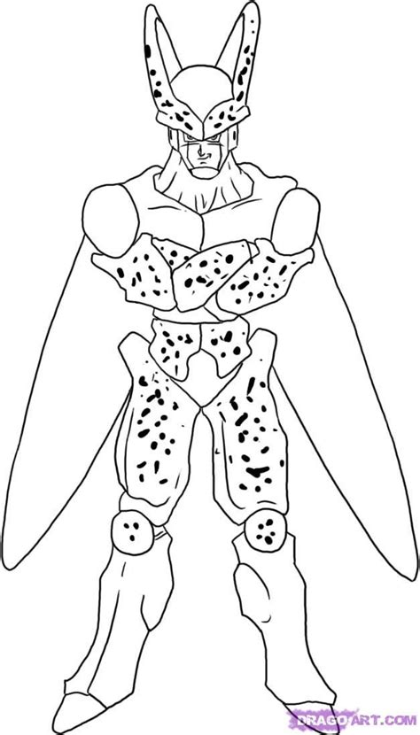 coloring pages dragon ball z az coloring pages