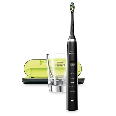 sonicare bed bath and beyond philips sonicare 174 diamond clean rechargeable electric