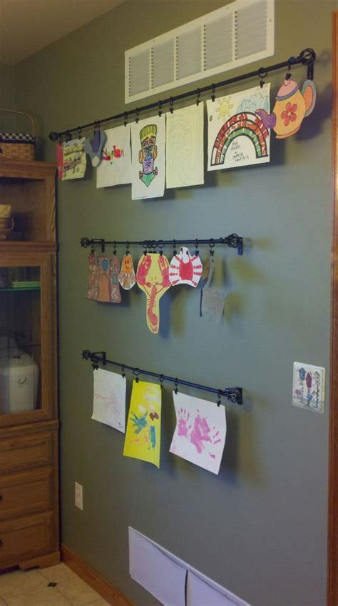 save a wall hang a poster 20 ideas for alternative art 17 best images about kid artwork organization on pinterest