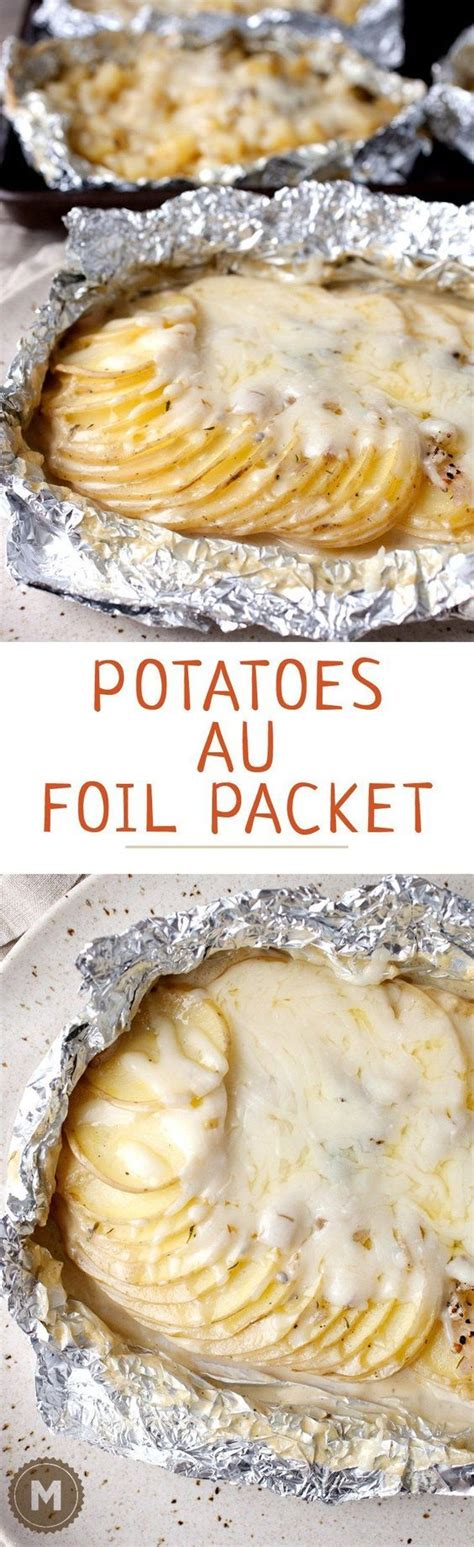 Favorite Summer Side Grilled Potato Packets by Best 20 Gratin Ideas On