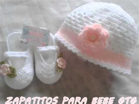 como hacer zapatitos tejidos para bebes youtube zapatitos para bebe gtg 4 youtube