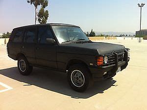 how does cars work 1991 land rover range rover engine control sell used 1991 range rover classic runs great no reserve in rancho cucamonga california