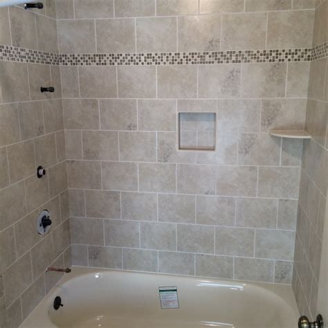 tiled bathtub ideas shower tub bathroom tile ideas rotella kitchen bath