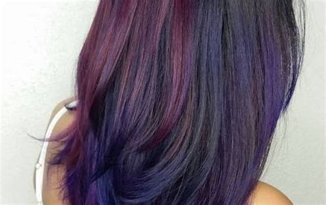 40 versatile ideas of purple highlights for blonde brown 40 versatile ideas of purple highlights for blonde brown and red hair black hair balayage