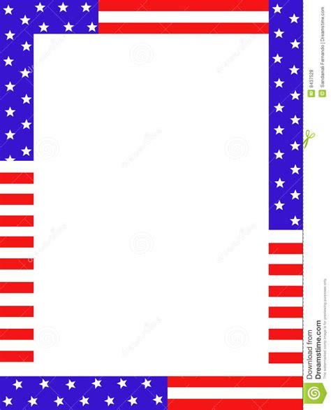 design frame usa usa border royalty free stock photos image 8437528