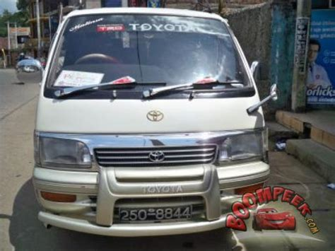 toyota hiace 1992: review, amazing pictures and images