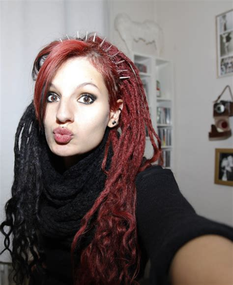 colored dreadlocks colored dreads colored dreadlocks hairstyle