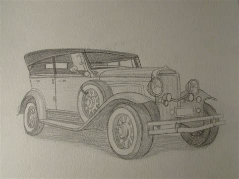 vintage cars drawings pencil sketches classic cars kpwms art studio art by