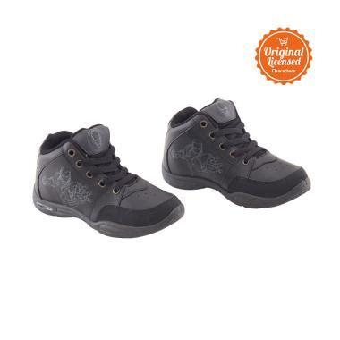 Promo Sepatu Anak Laki Laki Black 1 jual marvel the shoes back to school iron sepatu anak laki laki black