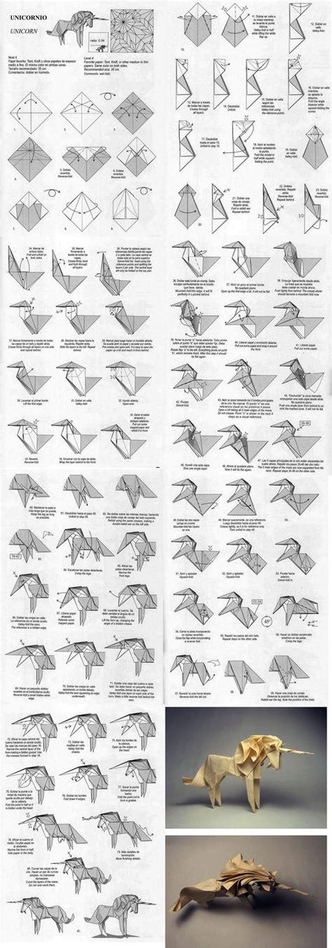origami einhorn origami einhorn new home stuff anleitungen