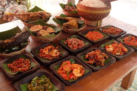 tempat makan sambal pedas rekomendasi  bali official