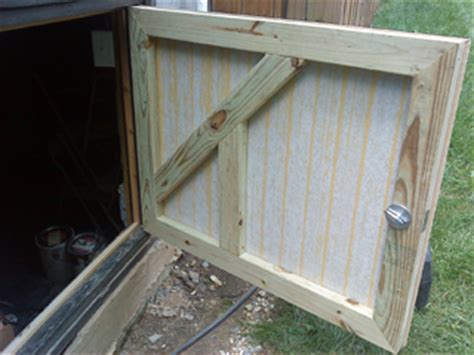 Building A Crawl Space Door by Inspired Remodeling Tile Bloomington Indiana