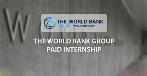Paid Mba Iternship by Apply World Bank Paid Summer Internship For
