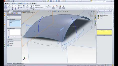 solidworks tutorial mirror solidworks 2011 car wing mirror youtube